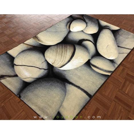 فرش مدرن چهارمتری طرح سنگ