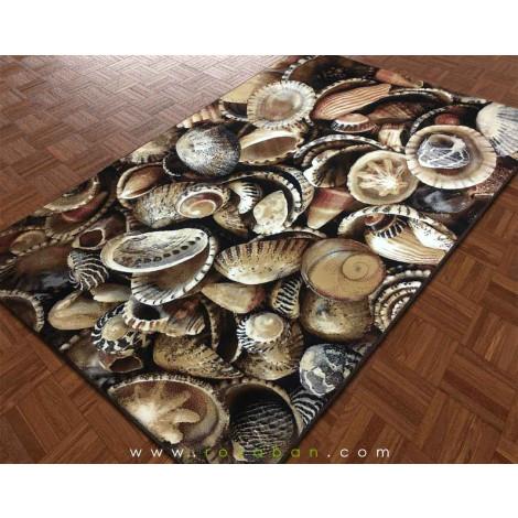 فرش سه بعدی 4 متری مدل صدف