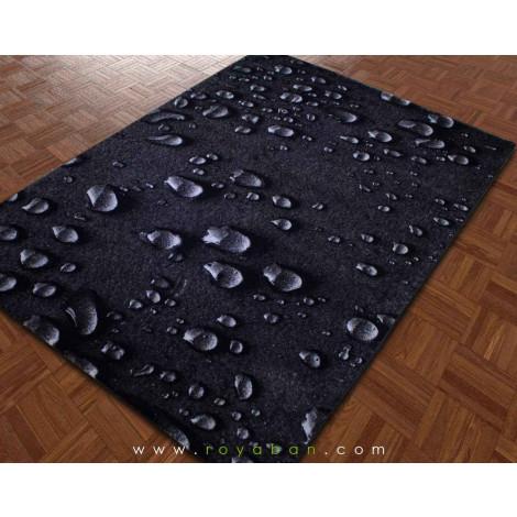 فرش سه بعدی 6 متری ساوین مدل قطره