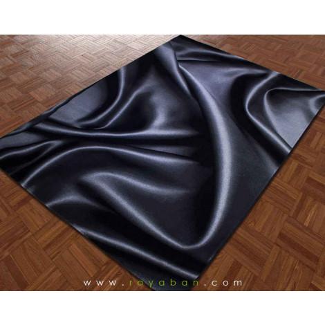 فرش سه بعدی 1.5 متری ساوین مدل پارچه