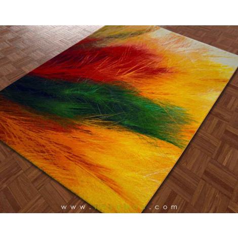 فرش سه بعدی 4 متری ساوین مدل پر