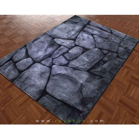 فرش سه بعدی 6 متری ساوین مدل صخره