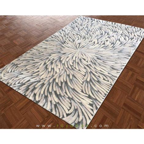 فرش فانتزی مدرن طرح گل