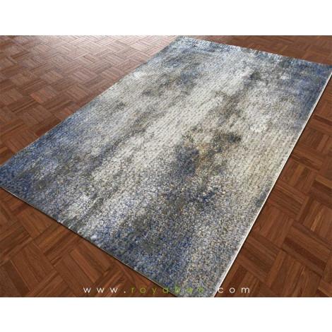 فرش مدرن طرح کهنه کاری شده