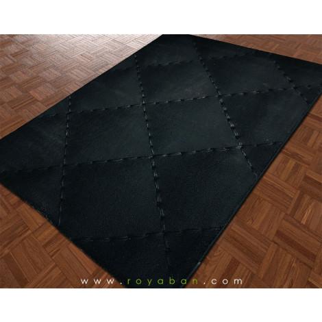 فرش سه بعدی 6 متری مدل چرم کلاسیک