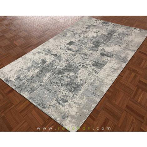 فرش مدرن چهار متری رنگ توسی