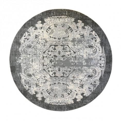 فرش طرح فرانسوی دایره قطر یک و نیم متر