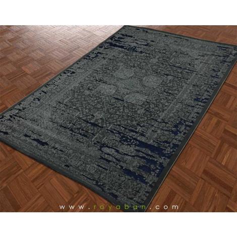 فرش وینتیج توسی و سرمه ای