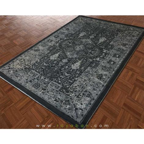 فرش شنل وینتیج نقره ای