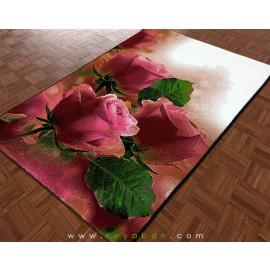 فرش فانتزی 1.5 متری مدل رز