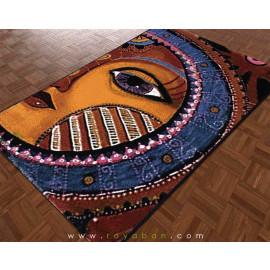فرش فانتزی 4 متری مدل خورشید خانوم