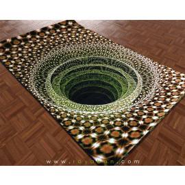 فرش سه بعدی 4 متری مدل گودال