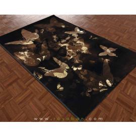 فرش فانتری 1.5 متری مدل پروانه