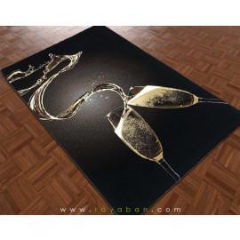 فرش فانتزی 1.5 متری مدل جام