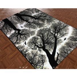 فرش فانتزی 1.5 متری مدل جنگل