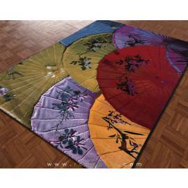 فرش سه بعدی 4 متری مدل چتر