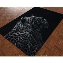 فرش سه بعدی 1.5 متری مدل جگوار