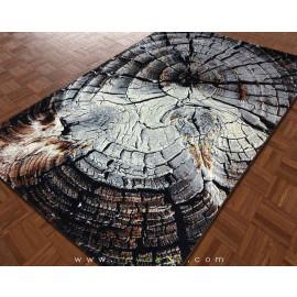 فرش سه بعدی 4 متری مدل تنه درخت