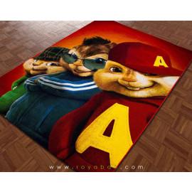فرش سه بعدی 1.5 متری ساوین مدل آلوین