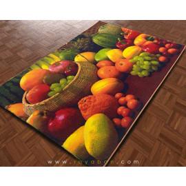 فرش سه بعدی 6 متری مدل سبد میوه
