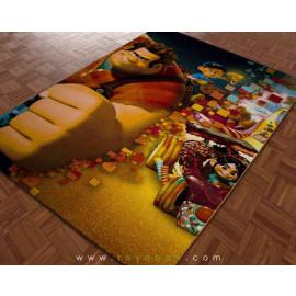 فرش سه بعدی 4 متری ساوین مدل رالف خرابکار