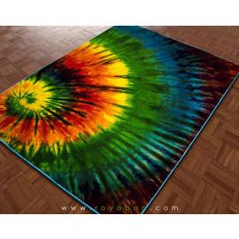 فرش سه بعدی 1.5 متری ساوین مدل اسپیرال