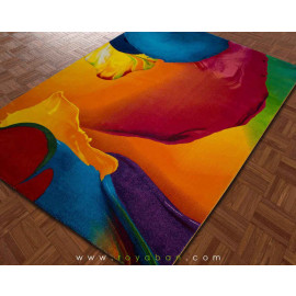 فرش سه بعدی 1.5 متری ساوین مدل اسپلش