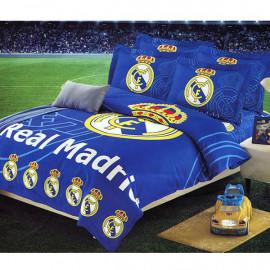 ست روتختی لحافی نوجوان 4 تکه طرح Real Madrid