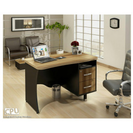 میز کارمندی قابل مونتاژ مدل K120