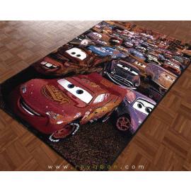 فرش کودک 1.5 متری مدل ماشین ها