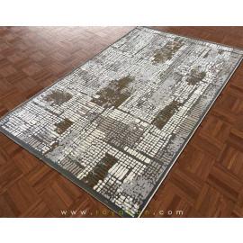 فرش مدرن فانتزی طرح توسی و کرم