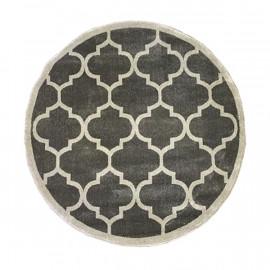 فرش طرح مراکشی رنگ توسی