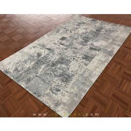 فرش مدرن یک و نیم متری رنگ توسی