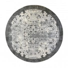 فرش طرح فرانسوی دایره قطر یک متر
