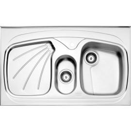 سینک استیل روکار استیل البرز مدل 610/60