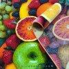 فرش سه بعدی 4 متری مدل میوه