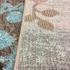 فرش مدرن طرح برگ یک و نیم متری