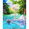 ست روتختی لحافی یک نفره 3 تکه مدل Aquatic Fairy
