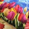 ست روتختی لحافی یک نفره 3 تکه طرح Tulip